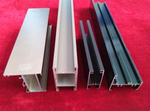 Aluminium Profile for Doors and Windows Frame High Quality and Low Price pictures & photos