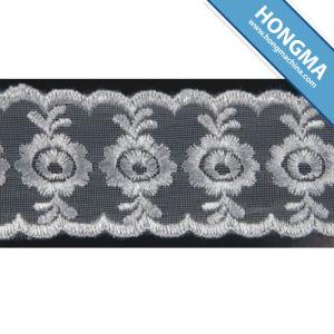 Good Quality Mesh Elegant Organza Lace (1607-0011)