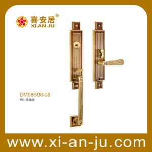 High Quality Hardware Brass Handle Door Lock (DM-08B08-08)