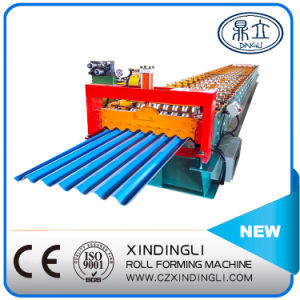 Colored Metal Steel Panel Corrugated Roll Forming Machine pictures & photos