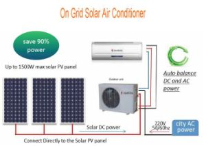 on Grid DC Inverter Solar Air Conditioner pictures & photos