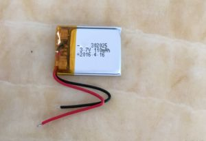 3.7V Battery Lithium Polymer 3.7 V Battery 302025 Lipo Cell pictures & photos