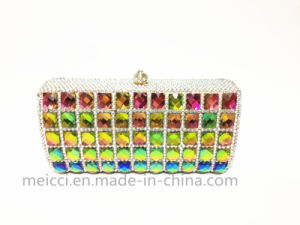 Colours Crystal Ladies Evening Bag, Fashion Clutch Bag pictures & photos
