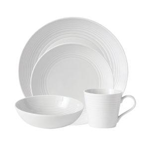 Royal Doulton Maze Ceramic Dinner Set White pictures & photos