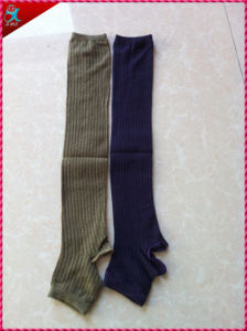 Winter New Design Black Knit Leg Warmers pictures & photos