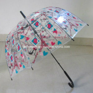 Heat Transfer Printing Straight Poe Umbrella (YSN24) pictures & photos