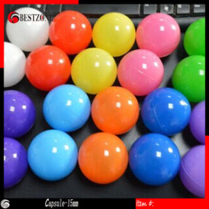 15mm Strong Plastic Empty Capsules, Solid Multicolors, Separating Two Parts Open and Close, Plastic Capsule for Decoration or Ve pictures & photos