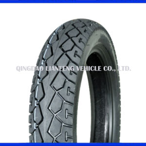 Motorbike Spare Parts, Tubeless Motorcycle Tyre Tire 110/90-16 pictures & photos