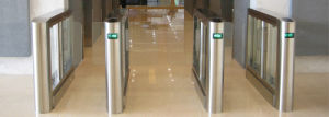 Intelligent Half Height Secured Speed Gate Turnstile Th-Sg305 pictures & photos
