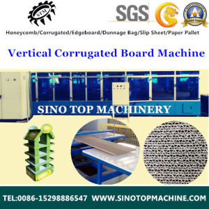 Corrugated Honeycomb Sheet Line for Promotion Pallet Stand pictures & photos