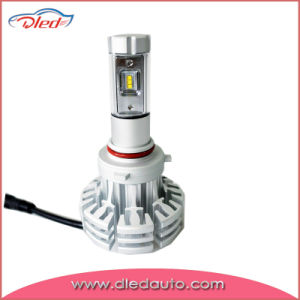 New Product X1 H4 6500k Ohilips-Zes Fanless LED Headlight pictures & photos