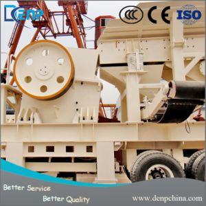 Portable Crusher Rubber-Tyred Crawler Truck Mobile Crushing Plant pictures & photos