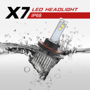 Plug N Play All in One X7 LED Headlight H13 pictures & photos
