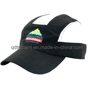 Soft Breathable Polyester Microfiber Mesh Outdoor Sport Cap (TMR0778) pictures & photos