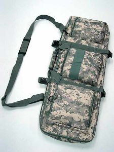 "33"" Dual Tactical Aeg Rifle Carrying Case Gun Bag"
