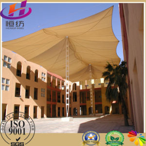 100% Virgin HDPE Fabric Shade Sail with UV Stabilizers