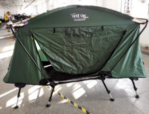 4 Legs Heightening Outdoor 2 Layers Camping Bed Tent pictures & photos