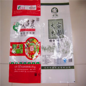 Rice Bag with Printing PP Woven Flour Sugar Rice Bag with BOPP Film 10kg 25kg pictures & photos