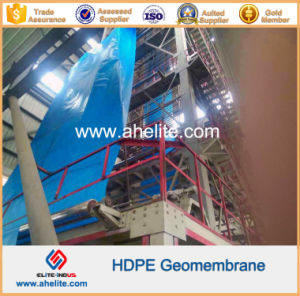 HDPE Geomembrane for Wasterwater Treatment Lagoons pictures & photos