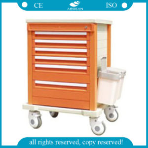AG-Mt002A1 Hospital Use ISO&CE Approved Crash Cart pictures & photos