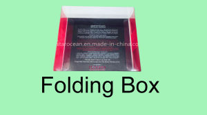 PVC Packaging Boxes for Cosmetics with UV Printing pictures & photos