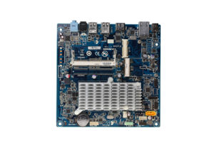 Mini Itx Mother Board with Onboard Intel CPU Atom D2550, 2*COM, LAN pictures & photos
