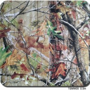 Tsautop New Style 0.5m Width Camouflage, Skull, Carbon Fiber and Flame Water Transfer Printing Films Hydrographic Film Aqua Print Tsmw05 pictures & photos