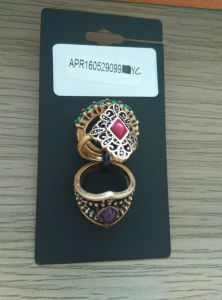 Fashion Jewelry a Set Ring with Gems Jewellery Wedding Rent pictures & photos