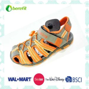 Sporty Sandals for Boys, with Nubuck Upper and TPR Sole pictures & photos