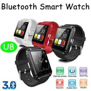 New Bluetooth Smart Watch with Anti-Lost Function (U8) pictures & photos