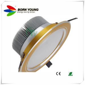 Gold Body, LED Down Light, Recessed Light, Ceiling Light CE&RoHS pictures & photos