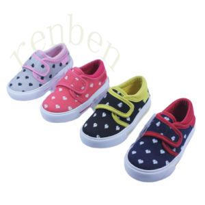 2017 New Children′s Comfortable Canvas Shoes pictures & photos