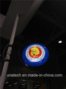 Advertising Sign Revolving Bank Textile Fabric LED Plastic Vacuum Light Box pictures & photos