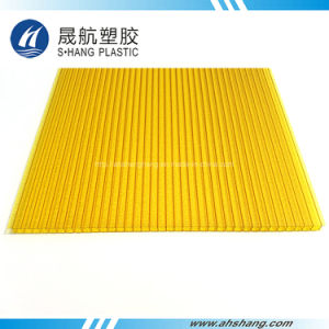 Glittery Yellow Green Polycarbonate Roofing Panel pictures & photos
