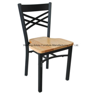 X Back Iron Dining Chair/ Dining Room Furniture (ALL-78)