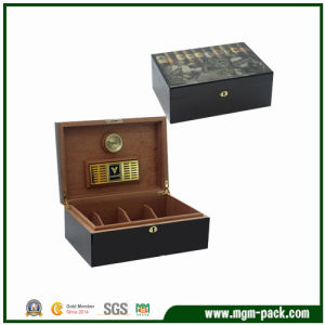Wooden Gift Packaging Cigar Box with Humidor pictures & photos