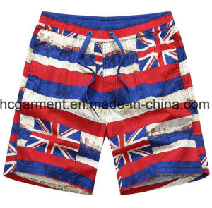Nylon Fabric of Boards Shorts, Man′s Printed Beach Shorts pictures & photos