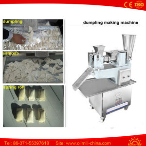 Food Machinery Small Home Maker Chinese Automatic Dumpling Making Machine pictures & photos