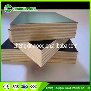 8*4 9ply 15mm Poplar Core Melamine Glue Plywood for Construction pictures & photos