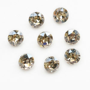 High Quality K9 Glass Rhinestone Pointed Rivoli Stone for Jewelry pictures & photos