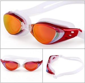 Silicone Racing Swim Goggles Anti-Fog UV Protection No Leaking for Men Women Adult pictures & photos