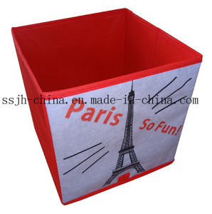 Paris Style Foldable Storage Box Without Cover (TN-SBK 155)