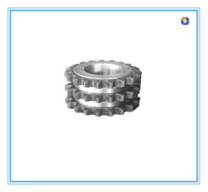 OEM Machining Parts for Three Row Sprocket Supplier in China pictures & photos