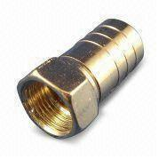 RF Coaxial Connector F Plug Crimp for Rg6u Cable pictures & photos