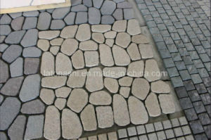 Tumbled Granite Flagstone, Paver Stone for Landscaping pictures & photos