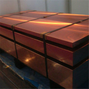 Copper Cathode Plate 99.99% (TU2, C1020T, C10200, T2, C1100, TP1, C1201) pictures & photos