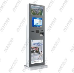 "17"" 19"" Dual Screen Payment Kiosk with Touch Screen, WiFi (PROTH17T-19P)"