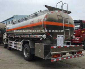 Foton 3 Axles 25 Cubic Meters Aluminium Alloy Fuel Tank Truck pictures & photos