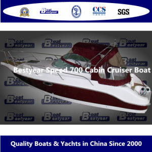 Bestyear Speed 700 Cabin Cruiser Boat pictures & photos