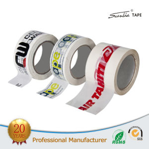 Acrylic Transparent Printing BOPP Adhesive Packing Tape pictures & photos